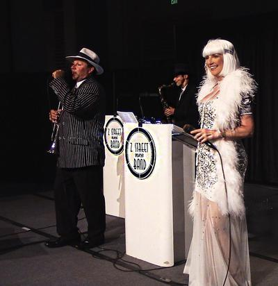 Orlando Corporate Event Entertainment, Convention entertainment, Gatsby, Speakeasy, Band Source Productions