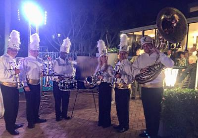Marching Band Orlando, Corporate Marching Band Orlando, Brass Band Orlando, Band Source Productions