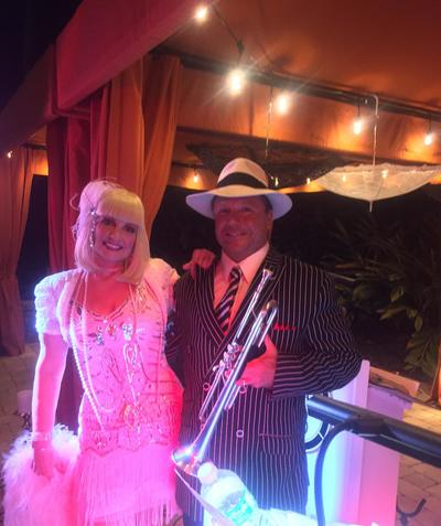 Corporate Event Entertainment, Convention entertainment, Gatsby, Speakeasy, Band Source Productions