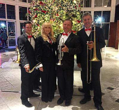 Holiday event entertainment, Christmas band, Christmas Entertainment, Orlando, Tampa, Sarasota, St. Petersburg, Florida